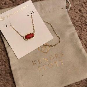 NWT Kendra Scott gold Elisa necklace